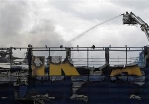 В Израиле пожар полностью уничтожил торговый центр IKEA