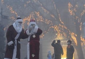 В центре Киева в новогоднюю ночь проведут безалкогольный карнавал