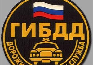 Пьяный водитель сломал нос московскому гаишнику