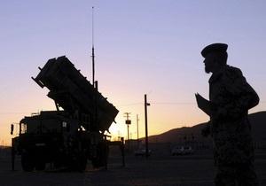 НАТО готовит комплексы Patriot к слежению за воздушным пространством над Сирией