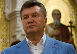 Янукович заверил, что сделает все для процветания Украины