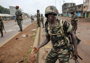 Правительство Гвинеи объявило в стране чрезвычайное положение