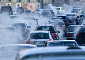 В Москве в конце Дня без автомобиля образовалась пробка на десятки километров