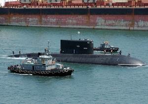 Украинские подводники начали стажировку на российской подлодке