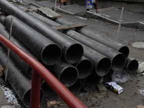 Киевэнерго начала реконструкцию теплотрассы на Троещине