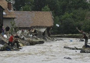 В Польшу снова пришла большая вода. Жертвами стихии стали четыре человека