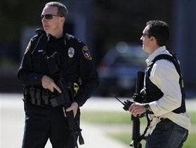В США полиция задержала вора в душе