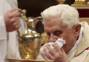 Фотогалерея: Нападение на Папу Римского