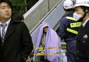 Граждан Японии призвали отказаться от стихийной помощи пострадавшим в результате землетрясения