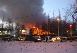 При пожаре в торговом центре Уфы погибли школьница и рабочий