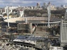 Тайваньскую фирму отстранили от реконструкции главной арены Евро-2012