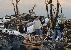 Число жертв торнадо в США увеличилось до 89 человек