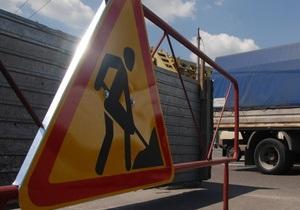 Движение по улице Грушевского в Киеве будет частично ограничено с 16 по 19 июля