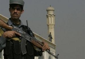 Афганских полицейских проверят на лояльность заново