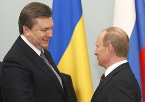 Янукович поговорил с Путиным об авиастроении