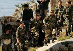 Сирийские власти заявили об уничтожении 100 афганских боевиков