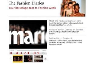 Модные журналы делают ставку на онлайн-видео