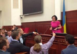 Герега заявила, что сегодняшнее заседание Киевсовета законное