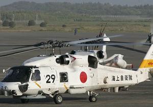 В Японии разбился военный вертолет: пропали двое военнослужащих