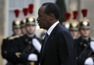 В Буркина-Фасо сторонники оппозиции требуют отставки президента