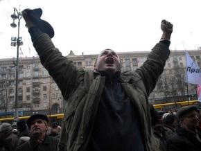 Опрос: Из-за кризиса почти половина украинцев готовы выйти на улицы