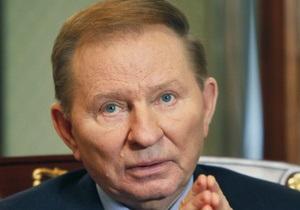 Кучма проведал в больнице главу УПЦ МП