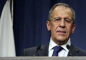 Лавров: Запад  шантажирует  Россию по Сирии