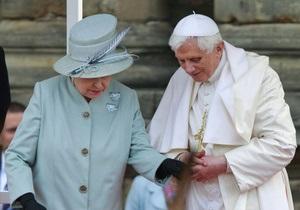 Папа Римский протянул Великобритании руку дружбы
