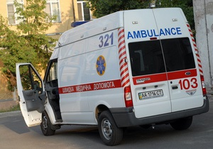 В Киеве во время семейной ссоры мужчина сбросил свою жену с восьмого этажа