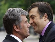 Ющенко срочно отправляется в Тбилиси