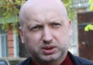 Турчинов: Резолюция Европарламента по Украине адекватна ситуации в стране
