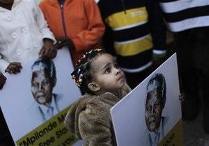 Врачи не собираются отключать Манделу от системы жизнеобеспечения