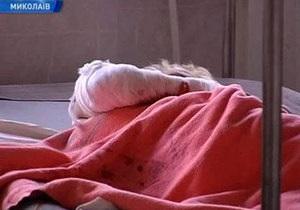 Жертву преступления в Николаеве подключили к аппарату искусственного дыхания