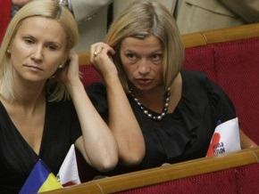 Бывший пресс-секретарь Ющенко родила девочку