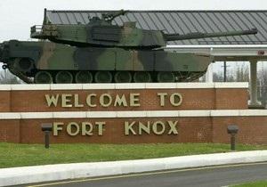 Форт-Нокс - США - В результате стрельбы на базе Форт-Нокс в США погиб один человек