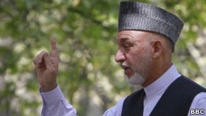 Карзай отказывается от мирных переговоров с талибами