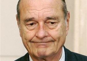 Парижский суд приговорил Жака Ширака к двум годам условно