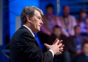 Ющенко заявил, что не будет премьер-министром потому, что останется Президентом