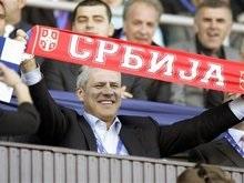 Сборная Сербии прибыла в Киев