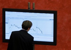 Украинский фондовый рынок снизился из-за негативной статистики в США