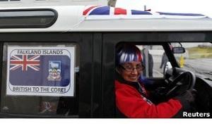 Фолкленды: 99% желают остаться в составе Британии