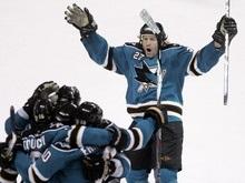 NHL: Последние путевки в 1/4 финала достались Сан-Хосе и Филадельфии