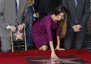 У Пенелопы Крус появилась звезда на Аллее славы Голливуда