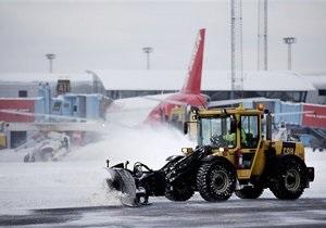 Европа восстанавливает транспортное сообщение после снегопадов