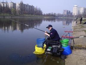 В Киеве состоялся чемпионат по ловле рыбы
