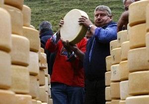 Госветслужба  Украины будет расследовать ситуацию с качеством экспортируемых сыров