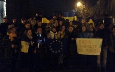 В ряде городов недовольные действиями власти украинцы выходят на митинги - УП