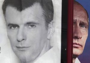 В штабе Прохорова заявили о демонтаже его предвыборных плакатов по указанию губернаторов