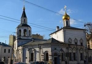 В Москве обокрали одну из старейших церквей