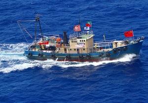 Годовщина капитуляции Японии: На спорных островах задержали 14 китайских активистов